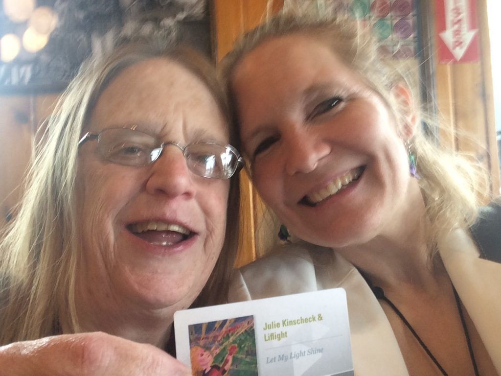 IAnne won a download card at Potbelly 2
