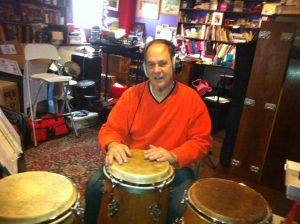 Joe Galeota on Percussion